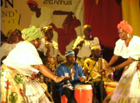 Big Drum Dancing at the Carriacou Music Festival- http://belairgardencottage.com