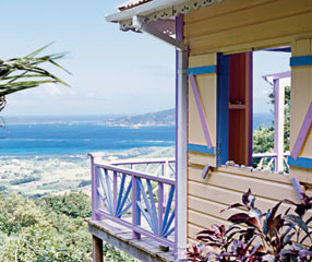 Carriacou, Grenada accomodation with a Grenadines island view
